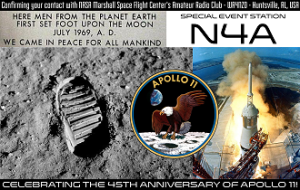 Our N4A special event QSL card.